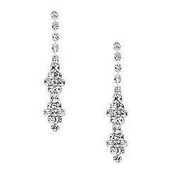Jon Richard - Diamante crystal fine drop earring