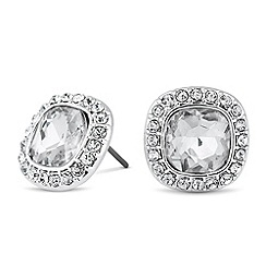 Alan Hannah Devoted - Designer Clara square surround stud earring