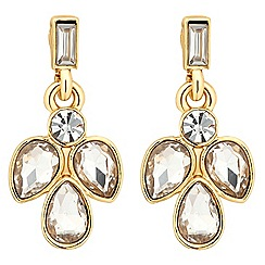 Jon Richard - Crystal cluster teardrop earring