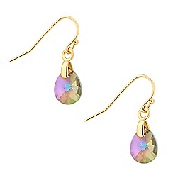 Jon Richard - Paradise shine crystal teardrop earring MADE WITH SWAROVSKI ELEMENTS