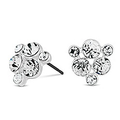 Alan Hannah Devoted - Designer crystal cluster stud earring