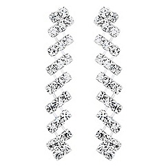 Jon Richard - Diamante crystal drop earring