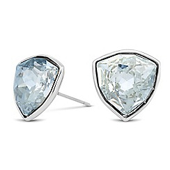 Jon Richard - Trilliant crystal drop stud earring MADE WITH SWAROVSKI ELEMENTS