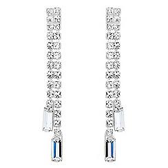 Jon Richard - Diamante crystal double strand earring