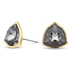 Jon Richard - Silver night trilliant drop earring MADE WITH SWAROVSKI CRYSTALS