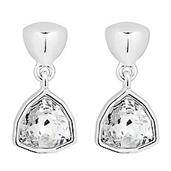 Jon Richard - Trilliant crystal drop earring MADE WITH SWAROVSKI CRYSTALS