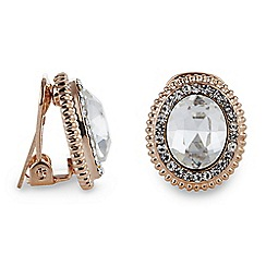 Jon Richard - Crystal Clara clip on earring