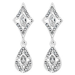 Alan Hannah Devoted - Designer crystal art deco earring