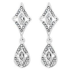 Alan Hannah Devoted - Designer crystal art deco earring