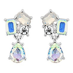 Jon Richard - Aurora borealis crystal drop earring