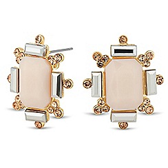 Jon Richard - Luxe pastel geometric earring