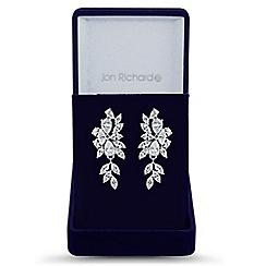 Jon Richard - Jon Richard Elvine cubic zirconia crystal earrings