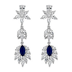 Alan Hannah Devoted - Alan Hannah Devoted Florence cubic zirconia drop earrings