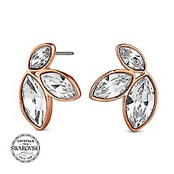Jon Richard - Graduated crystal earring MADE WITH SWAROVSKI CRYSTALS