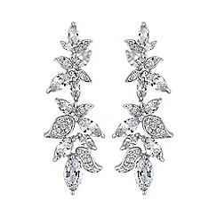 Jon Richard - Botanical leaf earring