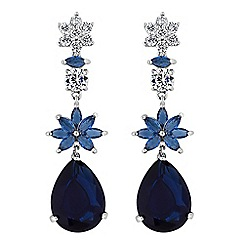 Alan Hannah Devoted - Designer flower drop earrings