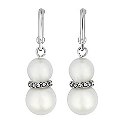 Jon Richard - Pearl droplet earrings