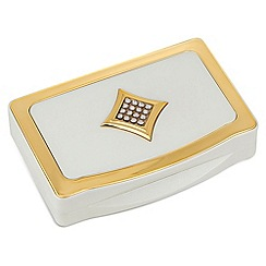 Jon Richard - Cream crystal envelope manicure set MADE WITH SWAROVSKI ELEMENTS