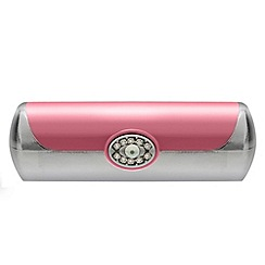 Jon Richard - Pink crystal lipstick case MADE WITH SWAROVSKI ELEMENTS