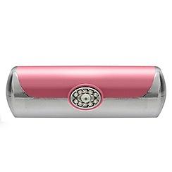 Jon Richard - Pink crystal lipstick case MADE WITH SWAROVSKI ELEMENTS