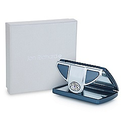 Jon Richard - Navy crystal envelope compact mirror MADE WITH SWAROVSKI CRYSTALS