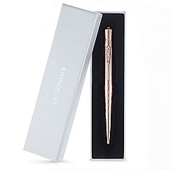Jon Richard - Rose gold crystal pen MADE WITH SWAROVSKI CRYSTALS