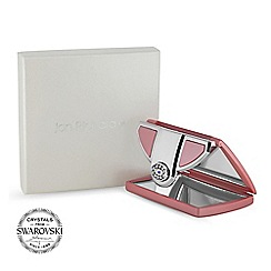 Jon Richard - Pink envelope compact MADE WITH SWAROVSKI CRYSTALS