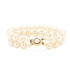Jon Richard - Double row pearl bracelet