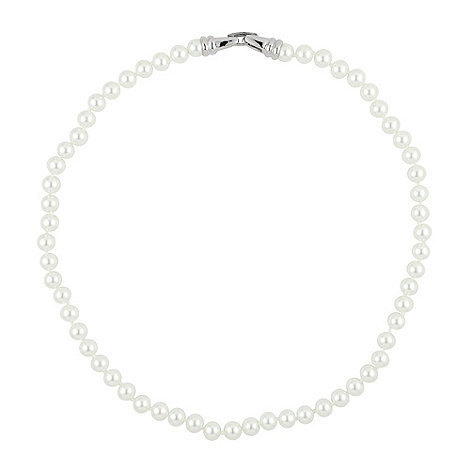 Jon Richard - Classic white pearl chain necklace