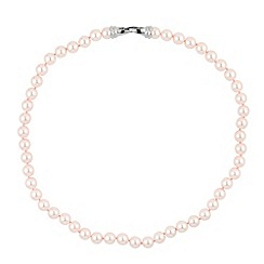 Jon Richard - Pearl flat clasp necklace