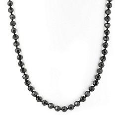 Jon Richard - Jet bead necklace