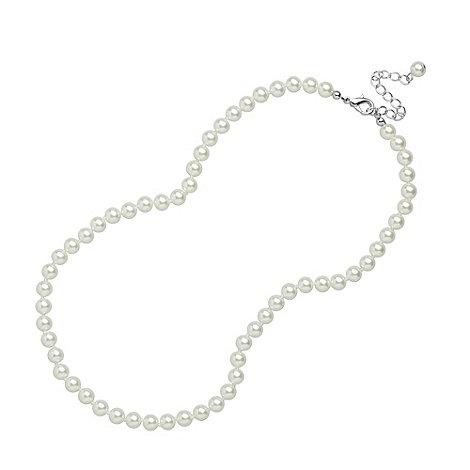 Jon Richard - White pearl necklace