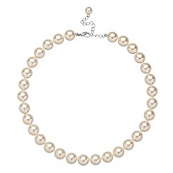 Jon Richard - Cream pearl necklace