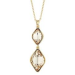 Jon Richard - Light silk lemon fancy stone necklace made with SWAROVSKI ELEMENTS