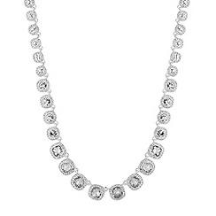 Alan Hannah Devoted - Designer Clara square surround graduated necklace