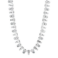 Jon Richard - Mixed crystal cluster link necklace