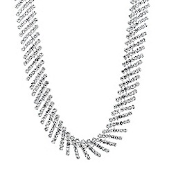 Jon Richard - Statement diamante crystal collar necklace