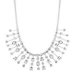 Jon Richard - Crystal embellished deco stick necklace