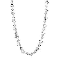 Jon Richard - Crystal bubble link necklace