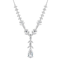 Alan Hannah Devoted - Designer iris cubic zirconia necklace