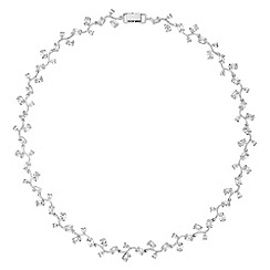 Alan Hannah Devoted - Athena silver cubic zirconia crystal necklace