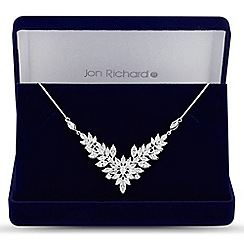 Jon Richard - Jon Richard Elvine cubic zirconia crystal necklace