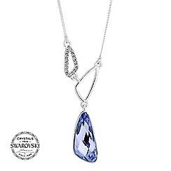 Jon Richard - Lavender pave necklace MADE WITH SWAROVSKI CRYSTALS