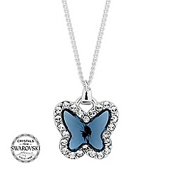 Jon Richard - Pave butterfly necklace MADE WITH SWAROVSKI CRYSTALS