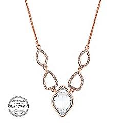 Jon Richard - Lemon drop pave necklace MADE WITH SWAROVSKI CRYSTALS
