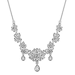 Jon Richard - Jon Richard Sophia botanical necklace MADE WITH SWAROVSKI CRYSTALS