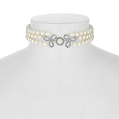 Alan Hannah Devoted - Clover pearl choker