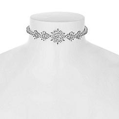 Alan Hannah Devoted - Designer statement floral choker necklace