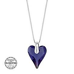 Jon Richard - Wild heart necklace MADE WITH SWAROVSKI CRYSTALS