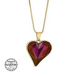 Jon Richard - Sweet heart pendant necklace MADE WITH SWAROVSKI CRYSTALS
